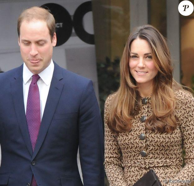 Kate Middleton et le prince William en novembre 2013 à Londres