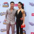 Rumer Willis, Valentin Chmerkovskiy - Cérémonie des Disney Music Awards à Los Angeles, le 25 avril 2015.