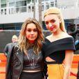 Bea Miller, Peyton List à la Cérémonie des Disney Music Awards à Los Angeles, le 25 avril 2015.