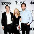 Alessandro Nivola, Patricia Clarkson et Bradley Cooper - Junket avec les nommés des Tony Award 2015 à New York le 29 avril 2015