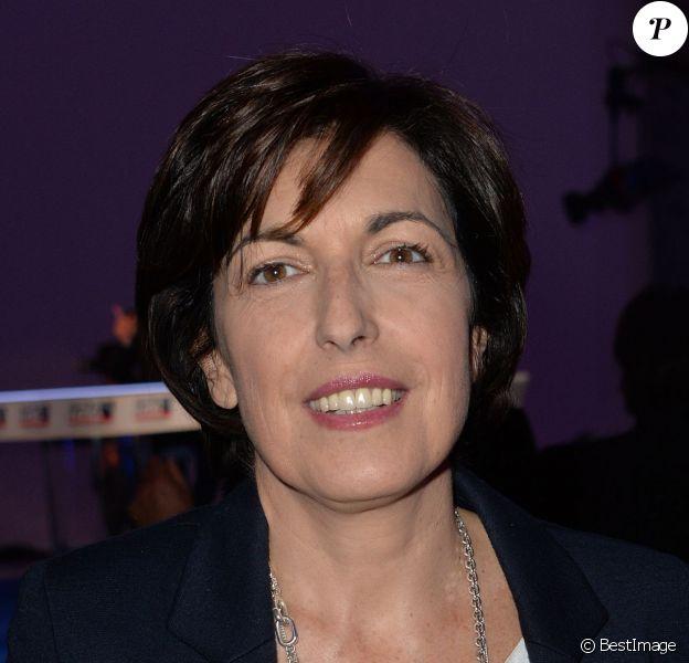 Ruth Elkrief au Pavillon Cambon à Paris, le 12 mars 2014.