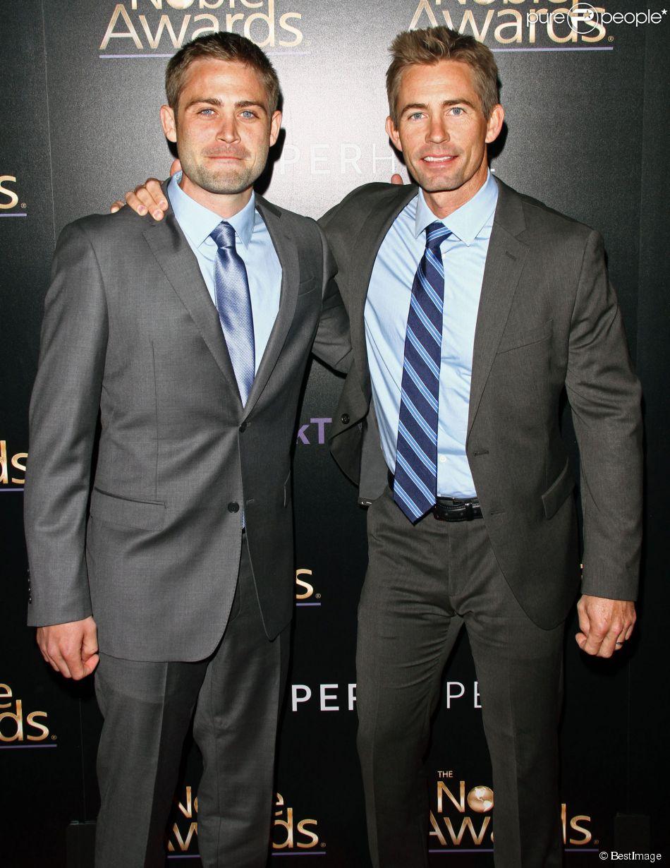 Cody Walker et Caleb à la 3e soirée annuelle Noble Awards à Beverly Hills, le 27 février 2015.