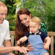 Le prince George fête ses 1 an ce jour, le 22 juillet 2014.