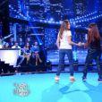 Mia Frye et Karine Ferri dans VTEP, le 2 mai 2015 sur TF1.