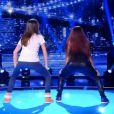 Bootyshake de Karine Ferri et Mia Frye, le 2 mai 2015 dans VTEP sur TF1.