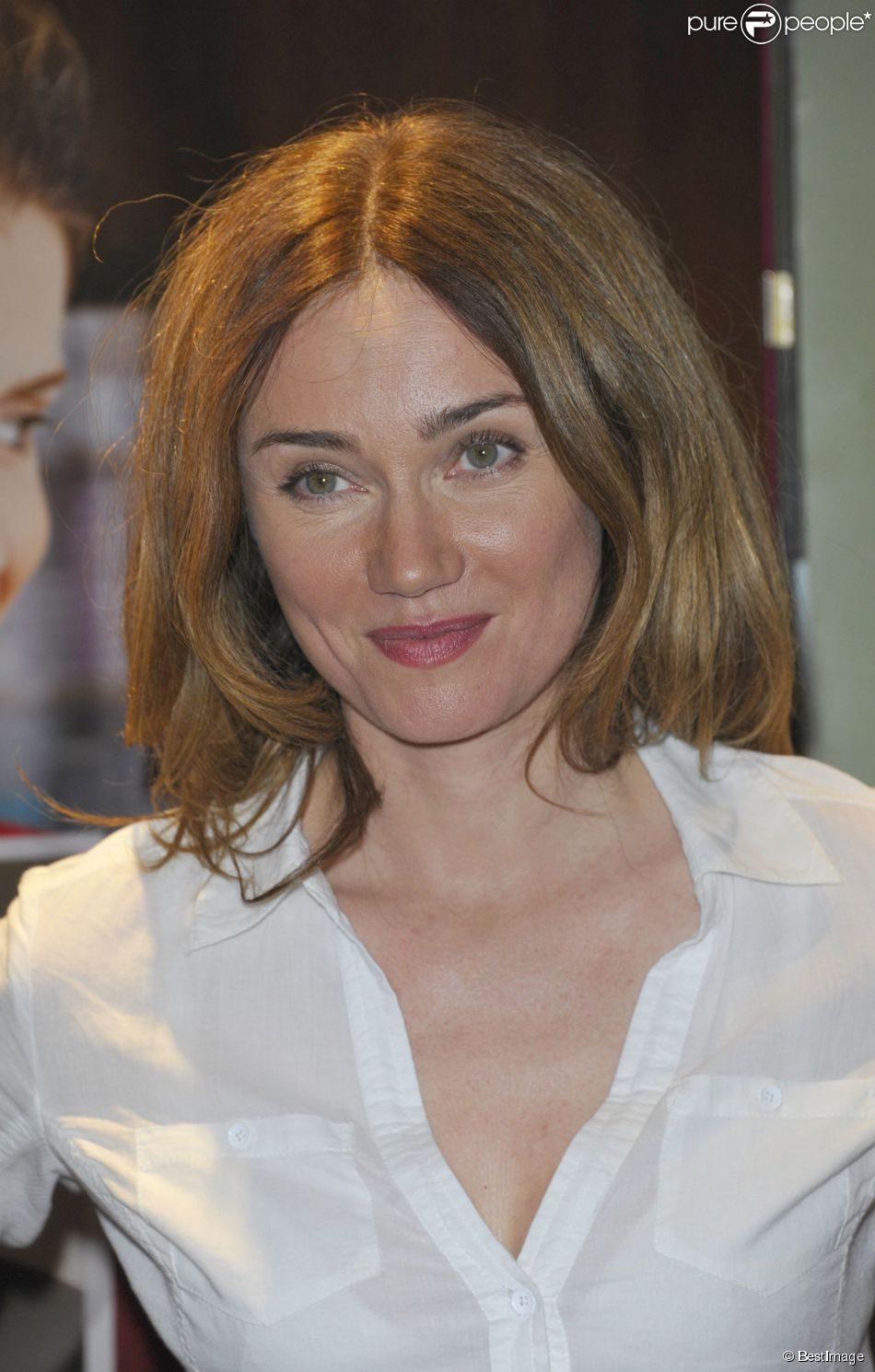 Marine Delterme à Paris en juillet 2012.