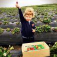 Marisa Miller a ajouté une photo de son fils Gavin à son compte Instagram, le 4 mai 2015