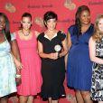 Danielle Brooks, Dascha Polanco, Selenis Leyva et Natasha Lyonne - Les stars d'Orange is the New Black à New York, le 19 mai 2014.