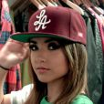 Becky G dans le clip de la chanson Lovin' So Hard