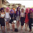 Jessica Lowndes avec ses complices à Cabo San Lucas - photo publiée sur son compte Instagram le 2 mai 2015