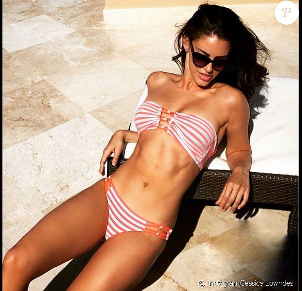 Jessica Lowndes à Cabo San Lucas - photo publiée sur son compte Instagram le 4 mai 2015