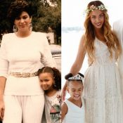 Beyoncé, Céline Dion, Kim Kardashian... fêtent les mamans en photos et en messages