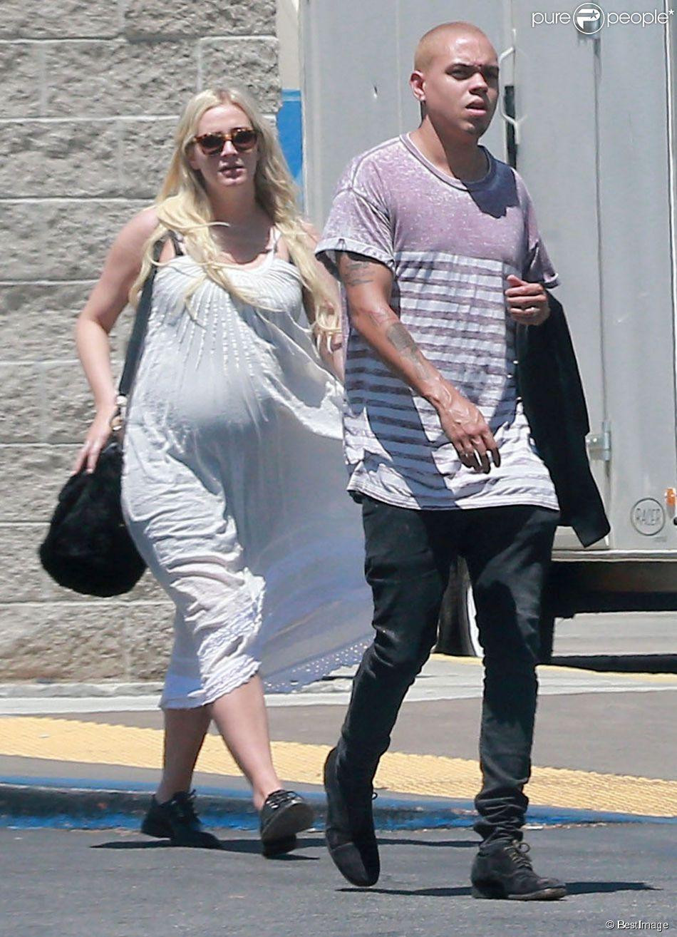 Exclusif ashlee simpson tr s enceinte et son mari evan - Fausse couche mais toujours enceinte ...