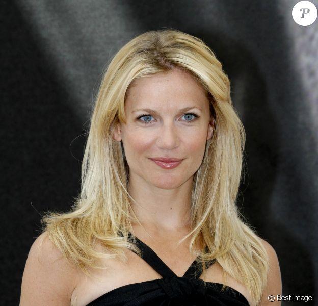Sandrine Corman au photocall de Accès Privé lors du 53e festival de Monte-Carlo au Forum Grimaldi à Monaco, le 10 Juin 2013.
