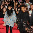 "Willow Smith et Jaden Smith - Premiere du film ""The Hunger Games 2 : Catching Fire"" a Los Angeles, le 18 novembre 2013."