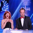 Exclusif - Jarry et Anaïs Delva - 10e cérémonie des Globes de Cristal au Lido à Paris, le 13 avril 2015.