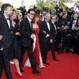 """Membres du jury Caméra d'or Claude Garnier, Yann Gonzalez, Delphine Gleize, Melvil Poupaud, Sabine Azéma, Didier Huck et Bernard Payen - Montée des marches du film """"La Tête Haute"""" pour l'ouverture du 68 ème Festival du film de Cannes – Cannes le 13 mai 2015  Red carpet for the movie """"La Tete Haute"""" for the opening ceremony of the 68 th Cannes Film festival - Cannes on May 13, 2015.13/05/2015 - Cannes"""