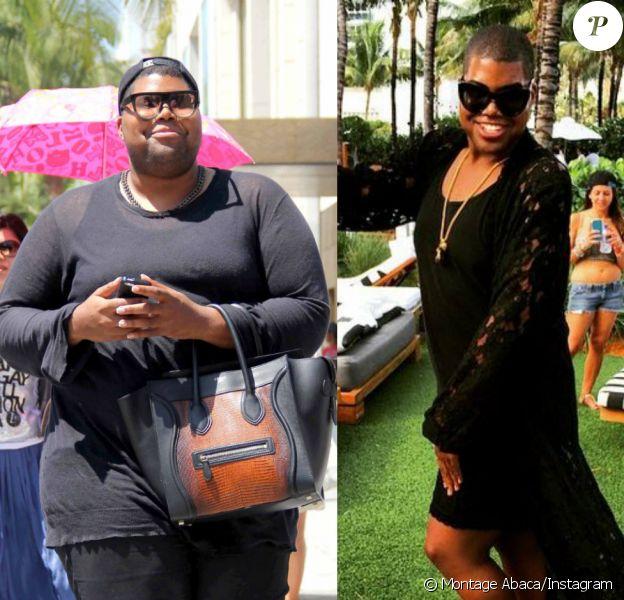 EJ Johnson avant/après. En 2013 dans les rues de Los Angeles (à gauche) et 2015 à Miami (droite).