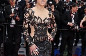 Cannes : Michelle Rodriguez ultrasexy face à Tomer Sisley et son nouveau look