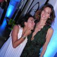 Exclusif - Sandra Zeitoun De Matteis et Doria Tillier - Soirée dans la suite Sandra and Co au 63 la croisette à Cannes le 13 mai 2015.