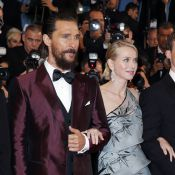 Cannes 2015: Robbie Williams très amoureux devant Matthew McConaughey chic barbu