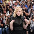 "Cate Blanchett - Photocall du film ""Carol"" lors du 68e Festival International du Film de Cannes le 17 mai 2015"