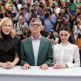 "Cate Blanchett, Todd Haynes et Rooney Mara - Photocall du film ""Carol"" lors du 68e Festival International du Film de Cannes le 17 mai 2015"