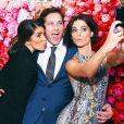 Nikki Reed, Peter Facinelli, Jaimie Alexander lors de la soirée pour les 100 ans de Maybelline New York au 555 West 18th St. à New York, le 14 mai 2015