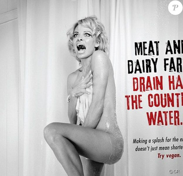 Pamela Anderson nue pour PeTA - mai 2015