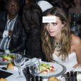 """Cara Delevingne assiste à la soirée """"Divine"""" organisée par de Grisogono à l'hôtel Eden Roc au Cap d'Antibes. Le 19 mai 2015."""