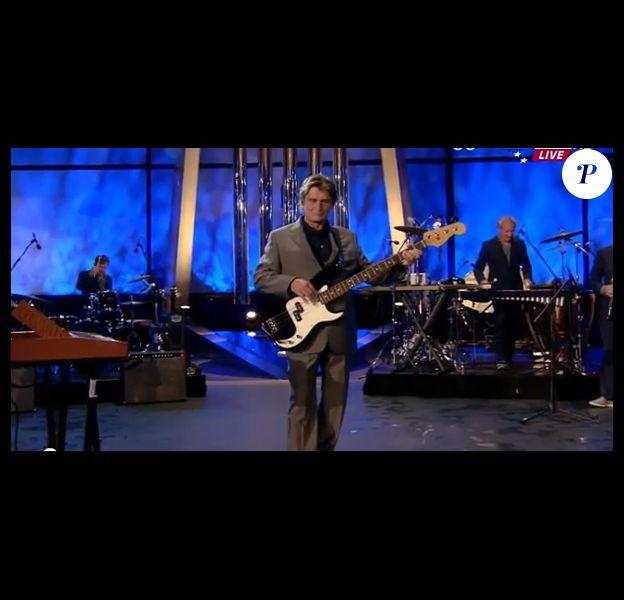 Mike Oldfield, au coeur de la cérémonie d'ouverture Isles of Wonder des JO de Londres 2012 le 27 juillet