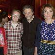 """Exclusif - Christiane Taubira, Lorànt Deutsch, Stéphane Guillon et Marisol Touraine - 100e de la pièce """"Le Systême"""" au théâtre Antoine à Paris le 21 mai 2015"""