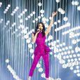 Conchita Wurst - Répétitions de la grande finale de l'Eurovision 2015 à Vienne. Le 22 mai 2015.