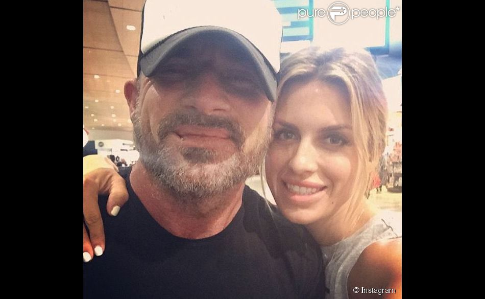 Kimmy Breeding et Dominic Purcell à Sydney en avril 2015