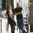 Dominic Purcell et Kimmy Breeding à Studio City, le 14 janvier 2015