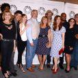 Robert Picardo entouré du cast de China Beach au Paley Center for Media de Los Angeles, le 13 septembre 2013
