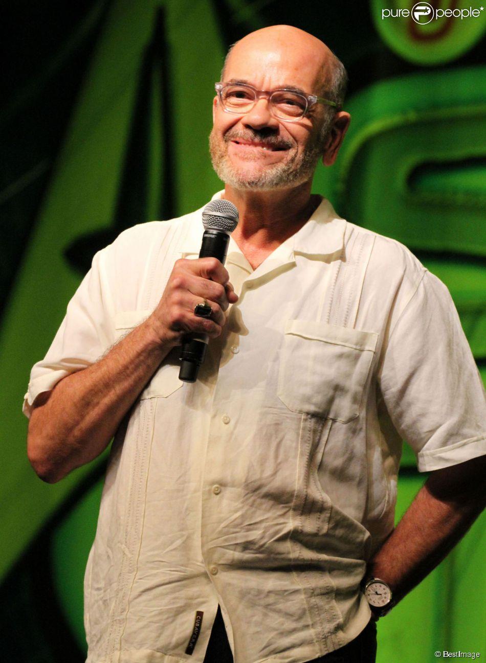 Robert Picardo lors du premier jour de la convention Star Trek à Las Vegas, le 9 août 2012 au Roddenberry Theatre situé au Rio Hotel And Casino