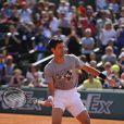 Novak Djokovic lors du Kid's Day à Roland-Garros le 23 mai 2015 à Paris