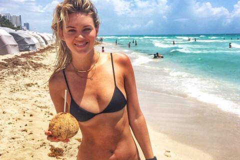 Lauren Hayes : Sexy en maillot, le mannequin se dore la pilule