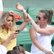 Roland Garros : Lorie, inséparable de Joyy, chahute dans les tribunes