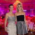 Exclusif - Lorie et la chanteuse Joyy au Global Gift Gala au profit de L'Unicef France Frimousses de Créateurs, de The Global Gift Foundation et The Eva Longoria Foundation, organisé au Four Seasons Hôtel George V à Paris, le 25 mai 2015.