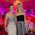 Exclusif - Lorie et la chanteuse Joyy au Global Gift Gala au profit de L'Unicef France Frimousses de Créateurs, de The Global Gift Foundation et The Eva Longoria Foundation, organisé au Four Seasons Hôtel George V à Paris, le 25 mai 2015.