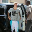 Semi-Exclusif - Justin Bieber se rend à son cours de gym à Hollywood, le 11 mai 2015