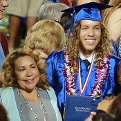 Arnold Schwarzenegger: Joseph, son fils illégitime, diplômé ravi devant sa maman
