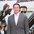 Arnold Schwarzenegger à Rome. Le 25 janvier 2013.