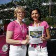Exclusif - Sylvie Jarier et Pasacle Herpin - 16ème Rallye des Princesses au Paris Golf Country Club de Rueil-Malmaison le 30 mai 2015.