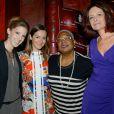 Emmanuelle Boidron, Léa François, Nathalie Cougny, Firmine Richard - Soirée Les Voix des Femmes au Buddha Bar à Paris, le 1er juin 2015.