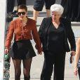 """Tallulah Willis et sa grand-mère Marlene Willis - Les danseurs de """"Dancing With The Stars"""" dans les studios de Hollywood, le 11 mai 2015"""