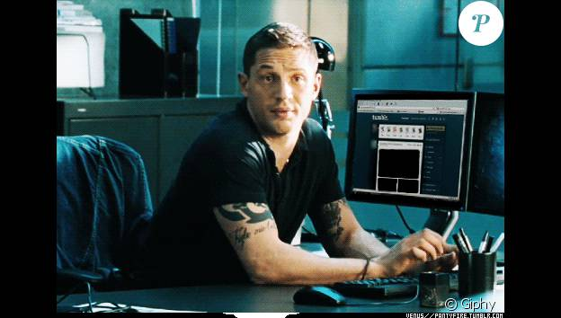 Tom Hardy en mode gif.