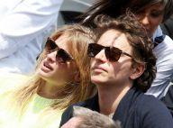 Mélanie Thierry, supportrice amoureuse à Roland-Garros face à Anaïs Demoustier